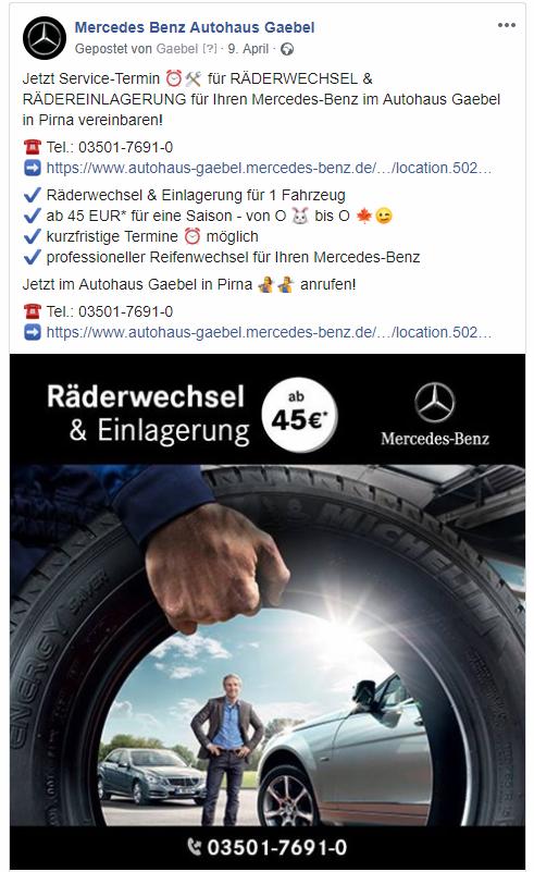 Autohaus Gaebel Facebook